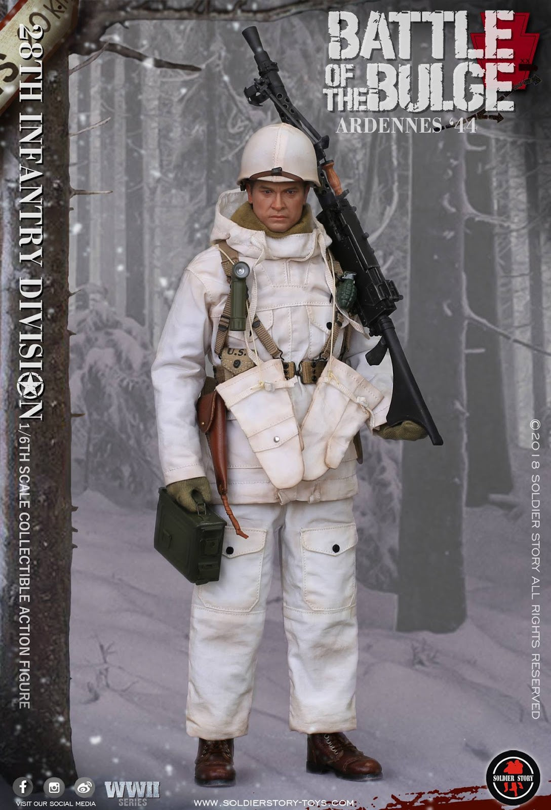 """SoldierStory SS 1//6th US Army Metal M1 Helmet Model For 12/"""" Male Figure Toy"""