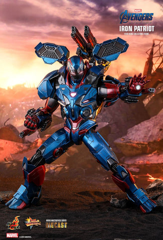 Hot Toys - MMS547D34 - Avengers: Endgame - Iron Patriot