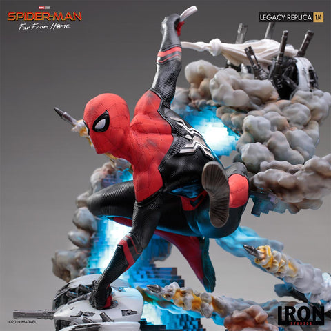 Iron Studios - 1:4 Legacy Replica - Spider-Man: Far From Home - Spider-Man