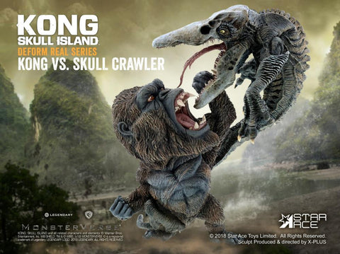 Star Ace Toys - Deform Real Series - Kong: Skull Island - Kong vs. Skull Crawler