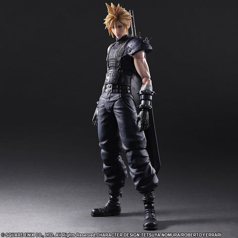 Play Arts Kai - Final Fantasy VII Remake - Cloud Strife - Marvelous Toys - 1