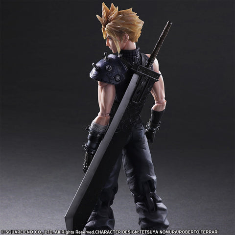 Play Arts Kai - Final Fantasy VII Remake - Cloud Strife - Marvelous Toys - 2