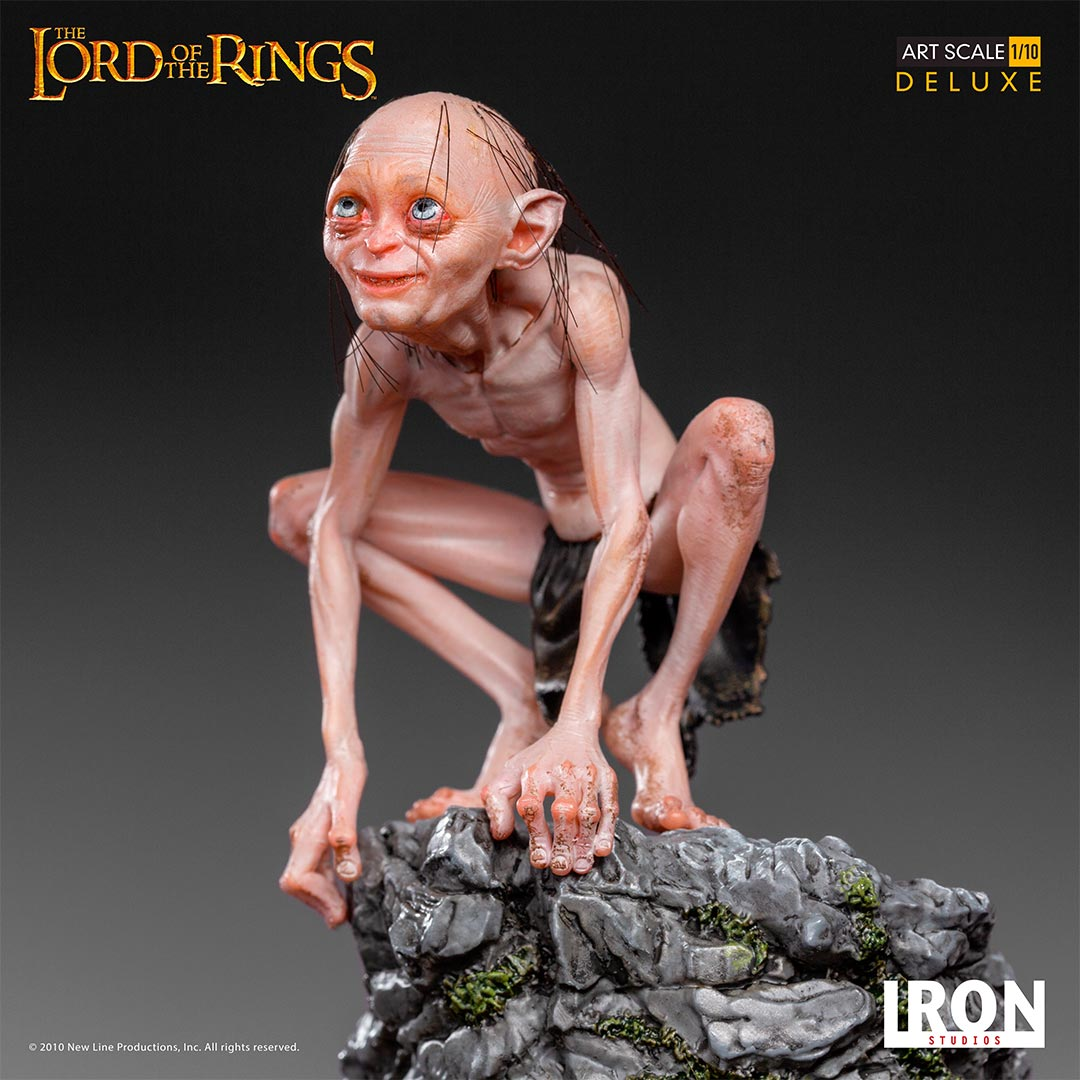 Iron Studios - Deluxe Art Scale 1:10 - The Lord of the Rings - Gollum