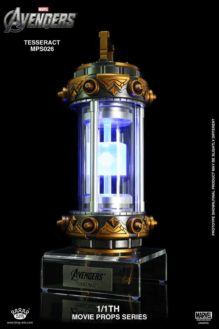 King Arts - MPS026 - The Avengers - Tesseract (1/1 Scale) (Reissue)