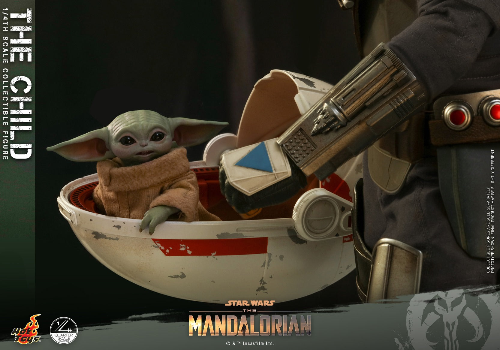 Hot Toys - QS018 - Star Wars: The Mandalorian - The Child (1/4 Scale)