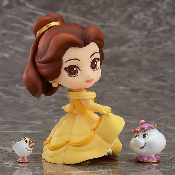 Nendoroid - 755 - Disney's Beauty and the Beast - Belle (with Mrs Potts and Chip)