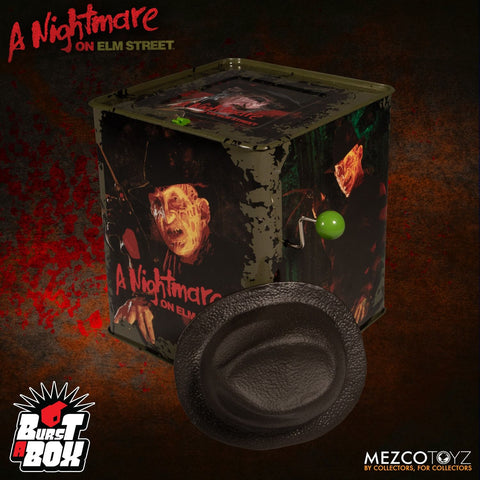 Mezco - Burst-A-Box - A Nightmare on Elm Street - Freddy Krueger