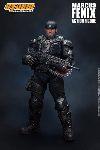 Storm Collectibles - Gears of War - Marcus Fenix (1/12 Scale)