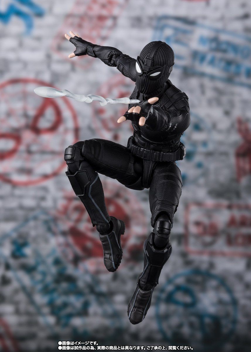 S.H.Figuarts - Spider-Man: Far From Home - Spider-Man (Stealth Suit) (TamashiiWeb Exclusive)