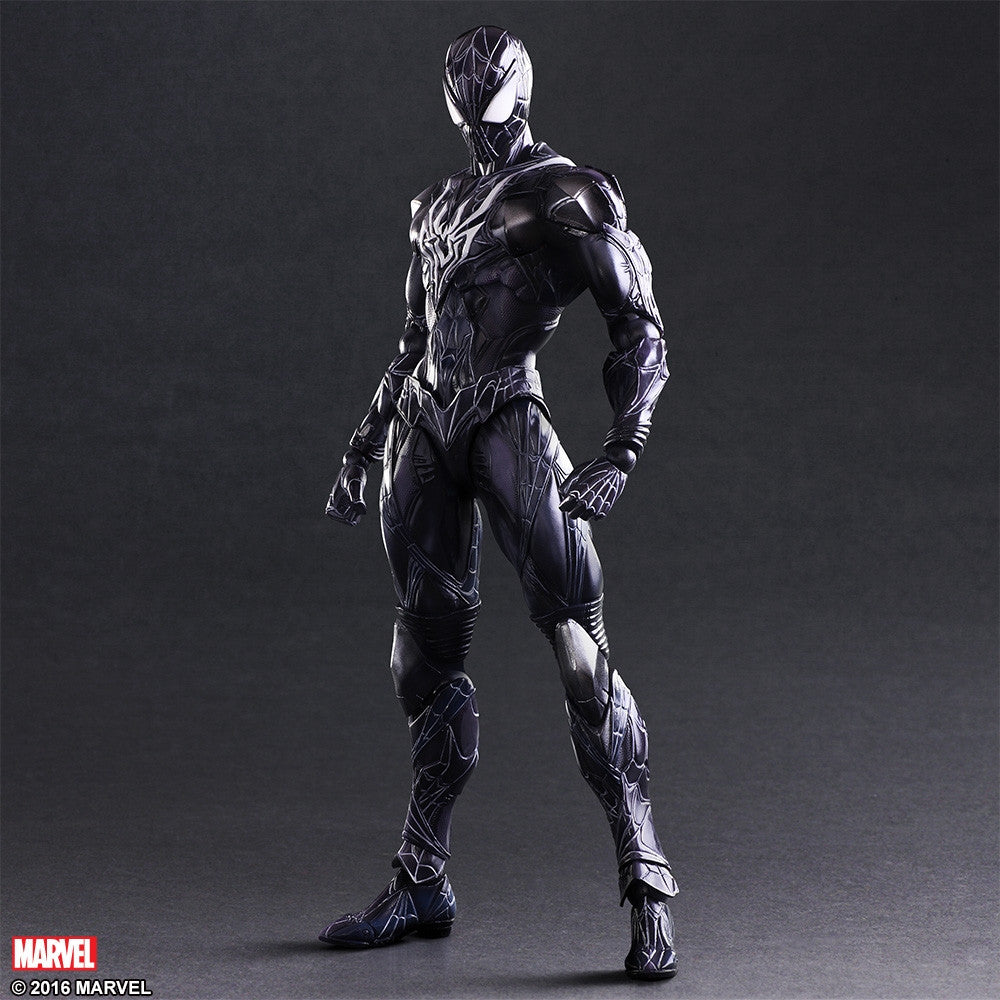 (IN STOCK) Play Arts Kai - Marvel Universe Variant - Spider-Man (Limited Color Ver.) - Marvelous Toys - 3