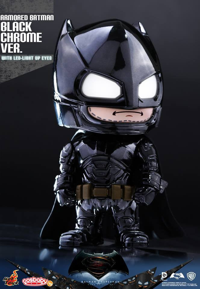 Hot Toys - COSB229-231 - Batman v Superman: Dawn of Justice - Armored Batman (Special Color Versions) Cosbaby (S) Bundle Set - Marvelous Toys - 4