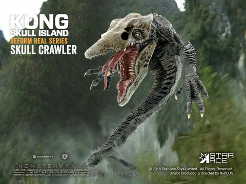 Star Ace Toys - Deform Real Series - Kong: Skull Island - Skull Crawler