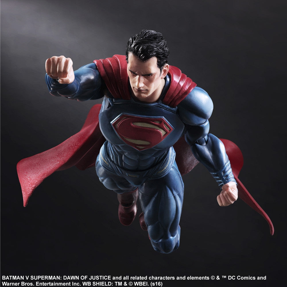 (IN STOCK) Play Arts Kai - Batman v Superman: Dawn Of Justice - Superman - Marvelous Toys - 5