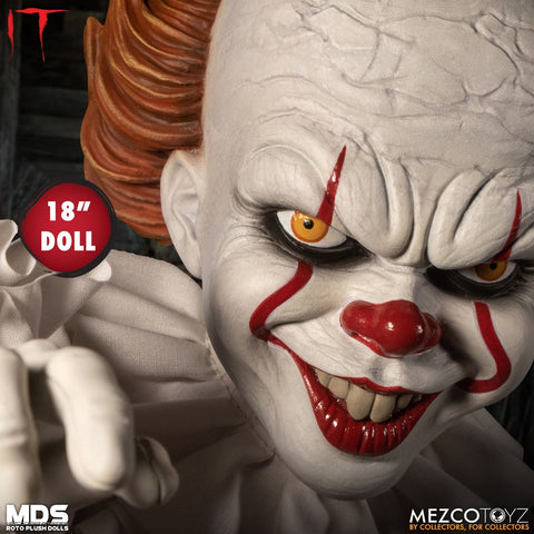 Mezco - Designer Series Roto Plush - IT (2017) - Pennywise