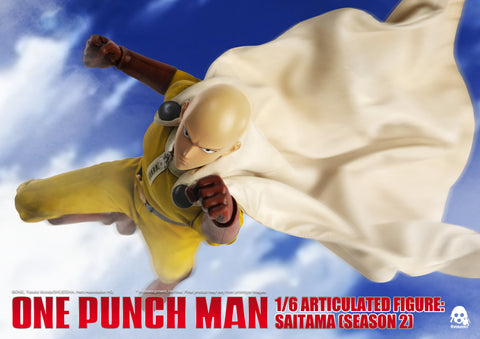 ThreeZero - One Punch Man - Saitama (Season 2) (1/6 Scale)