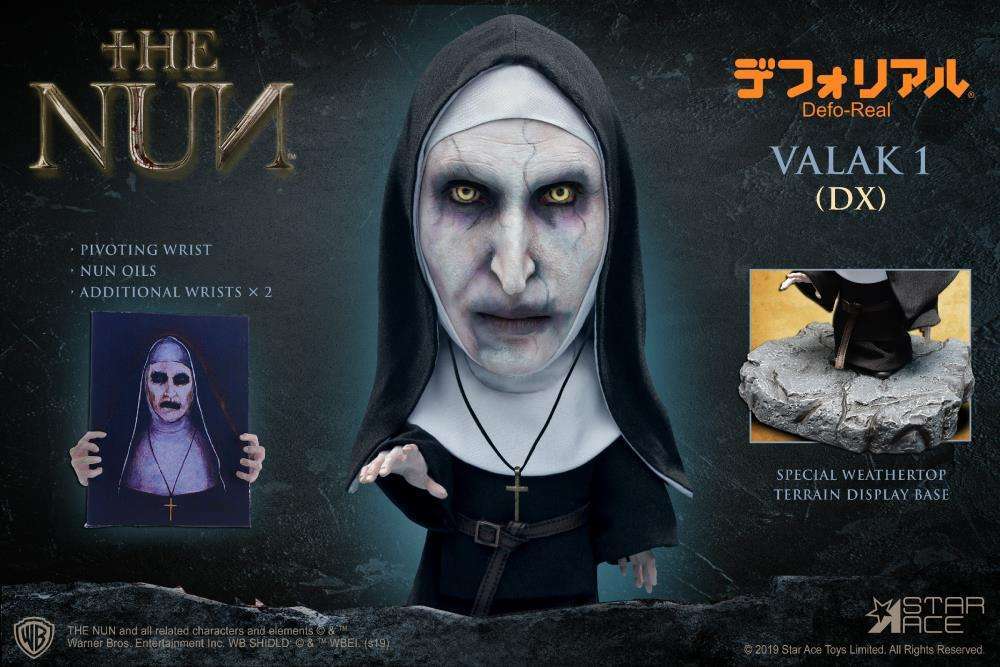 Star Ace Toys - Defo-Real - The Conjuring: The Nun - Valak (Closed Mouth) (DX)