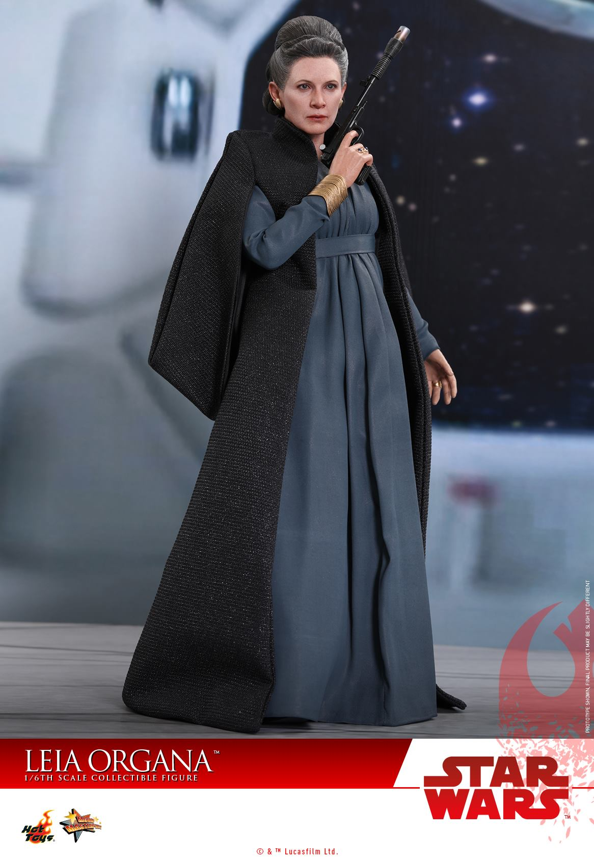 Hot Toys - MMS459 - Star Wars: The Last Jedi - Leia Organa