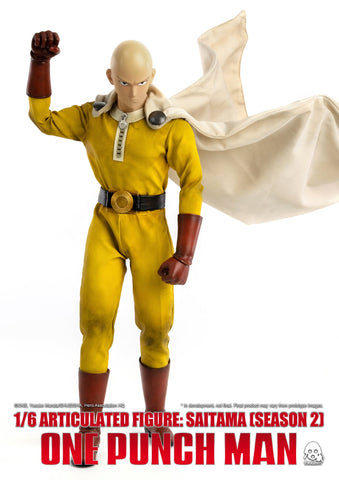 ThreeZero - One Punch Man - Saitama (Season 2) Deluxe Ver. (1/6 Scale)