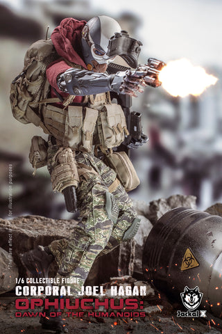 Jackal X - JX003 - Orphiuchus: Dawn of the Humanoids - Corporal Joel Hagan (Normal Version) (1/6 Scale)