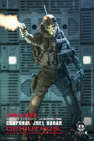 Jackal X - JX004 - Orphiuchus: Dawn of the Humanoids - Corporal Joel Hagan (Death Squad Version) (1/6 Scale)