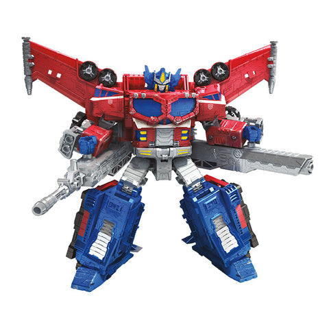 Hasbro - Transformers Generations - War for Cybertron: Siege - Leader - Galaxy Upgrade Optimus Prime