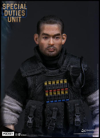 Dam Toys - Pocket Elite Series PES007 - Hong Kong Special Duties Unit - Fai Sir (1/12 Scale)