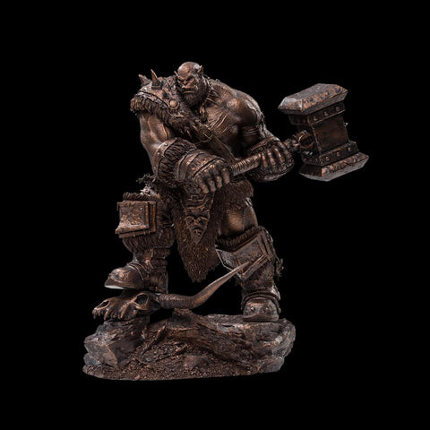 Damtoys - Epic Series - Warcraft - Orgrim Doomhammer (Imitation Bronze) (1/9 Scale)