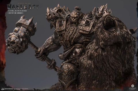 Damtoys - Epic Series - Warcraft - Blackhand (1/9 Scale) (Faux Bronze)
