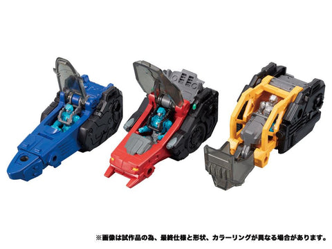 TakaraTomy - Diaclone - DA-53 - Triverse Bullet Core (TakaraTomy Mall Exclusive)
