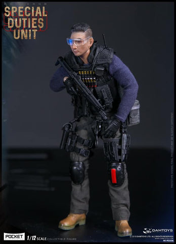 Dam Toys - Pocket Elite Series PES008 - Hong Kong Special Duties Unit - Sam Sir (1/12 Scale)