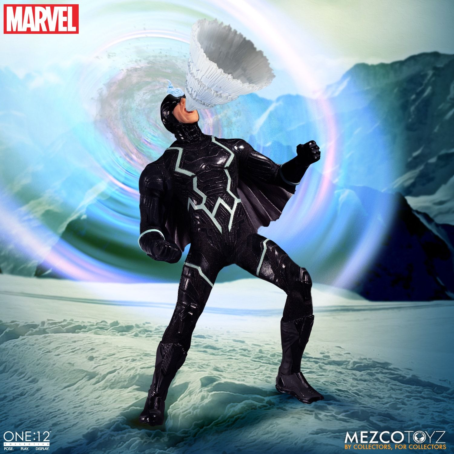 Mezco - One:12 Collective - Marvel - Black Bolt & Lockjaw