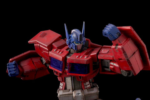 Flame Toys - Transformers - Furai Action 01 - Optimus Prime (IDW Ver.)