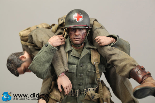 DiD - A80126 - WWII US 77th Infantry Division Combat Medic (Dixon)