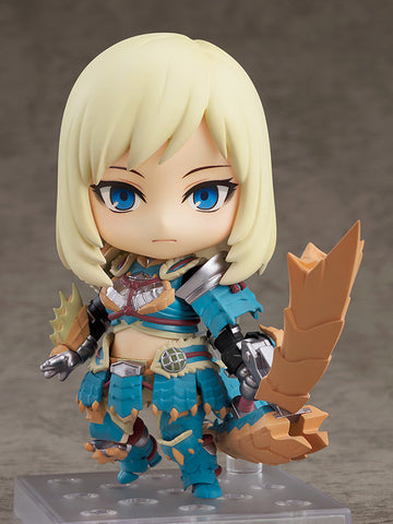 Nendoroid - 1407-DX - Monster Hunter World: Iceborne - Female Zinogre Alpha Armor Ver.