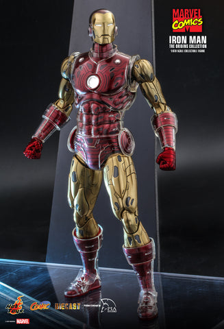 Hot Toys - CMS07D37 - Marvel Comics - The Origins Collections - Iron Man