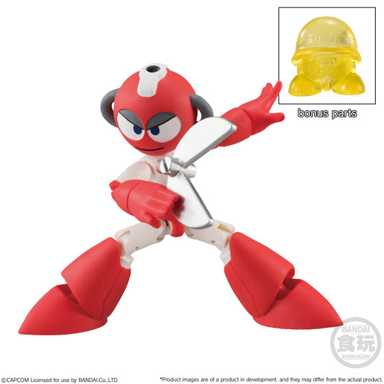 Bandai - Shokugan - Rockman (Mega Man) - 66 Action Dash Vol. 2 (Set of 5)