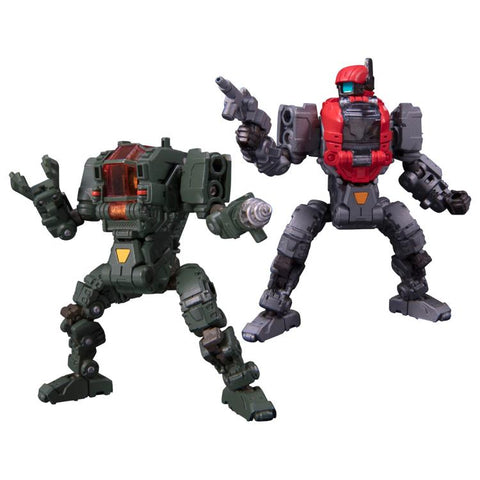 TakaraTomy - Diaclone DA-25 - Powered System Maneuver Alpha & Beta Exclusive Set (Maneuver Prototype/Space Marine Corps Ver.)