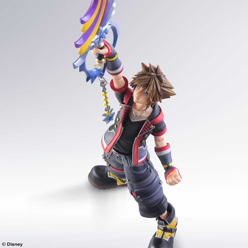 Play Arts Kai - Kingdom Hearts III - Sora - Marvelous Toys - 3
