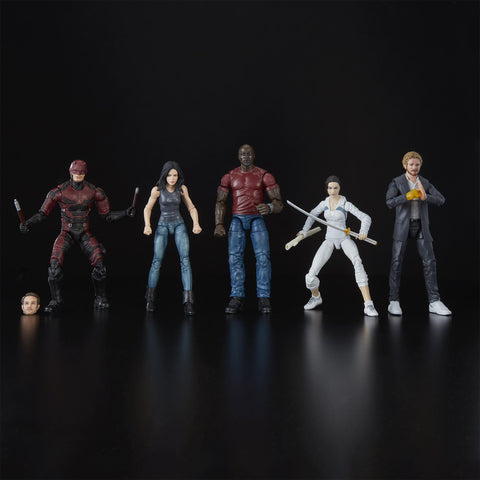Hasbro - Marvel Legends - Defenders Rail Authority 5-Pack (SDCC 2018 Exclusive)