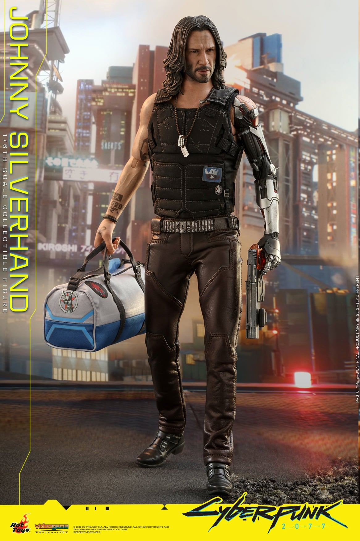 Hot Toys - VGM47 - Cyberpunk 2077 - Johnny Silverhand