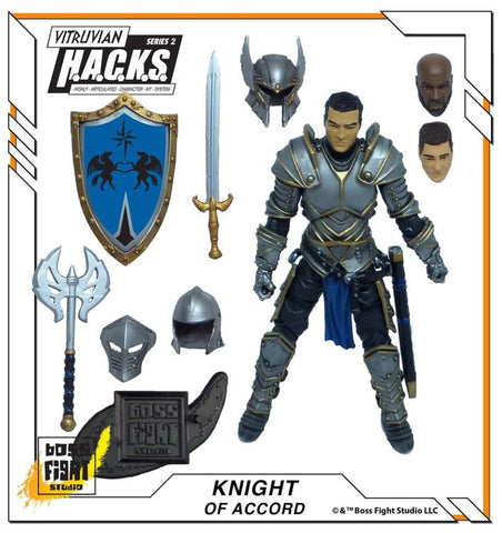 Boss Fight Studio - Vitruvian H.A.C.K.S. - Series 2 - Knight of Accord