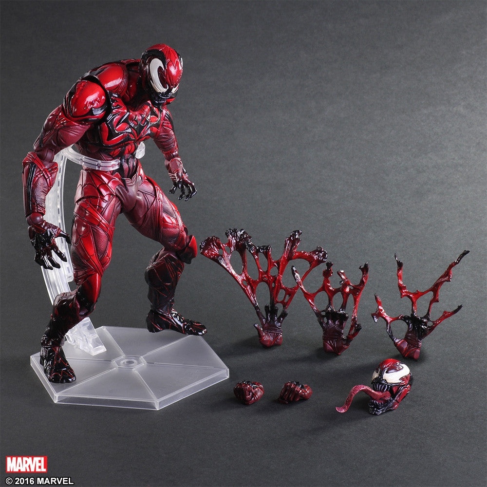 (IN STOCK) Play Arts Kai - Marvel Universe Variant - Venom (Limited Color Ver.) - Marvelous Toys - 5