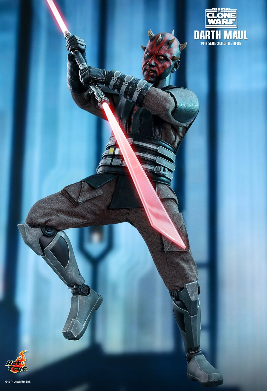 Hot Toys - TMS024 - Star Wars: The Clone Wars - Darth Maul