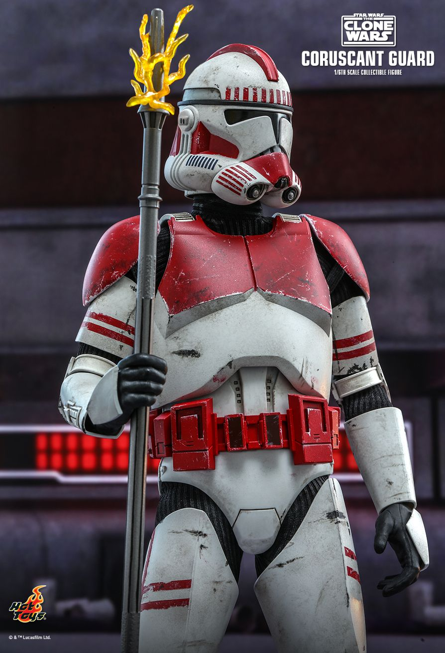 Hot Toys - TMS025 - Star Wars: The Clone Wars - Coruscant Guard