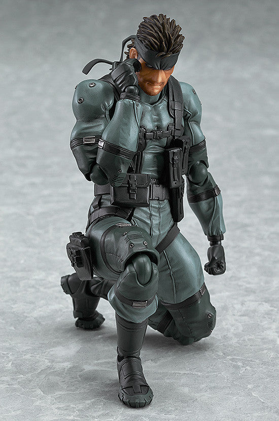 figma - 243 - Metal Gear Solid 2: Sons of Liberty - Solid Snake