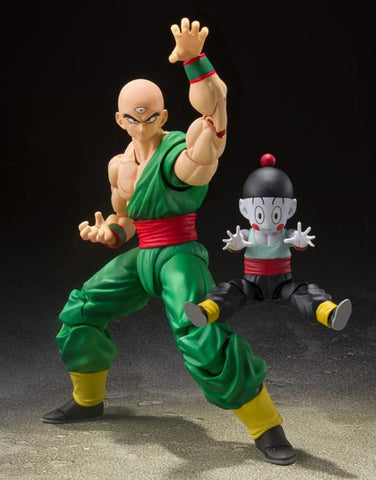 S.H.Figuarts - Dragon Ball Z - Tien Shinhan and Chiaotzu (Tamashii Exclusive)