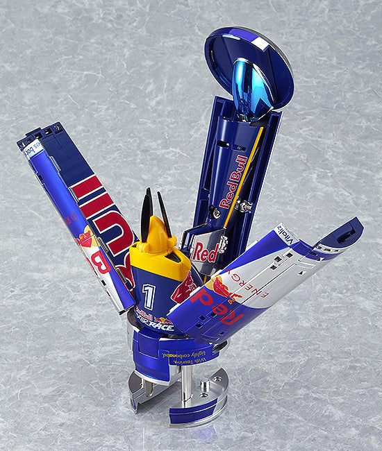 Good Smile Company - Red Bull Air Race Transforming Plane - Marvelous Toys - 2