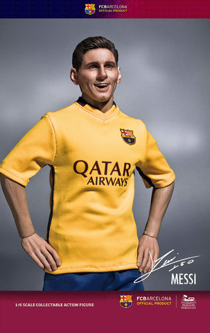 ZC World - FC Barcelona 15/16 - Lionel Messi (Away Kit) - Marvelous Toys - 1