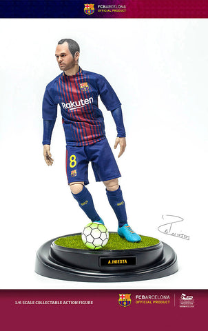 ZC World - FC Barcelona 2017/2018 - Andres Iniesta (1/6 Scale)