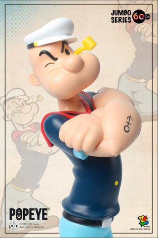 ZC World - Jumbo Size 60cm - Popeye (Retro) (90th Anniversary)